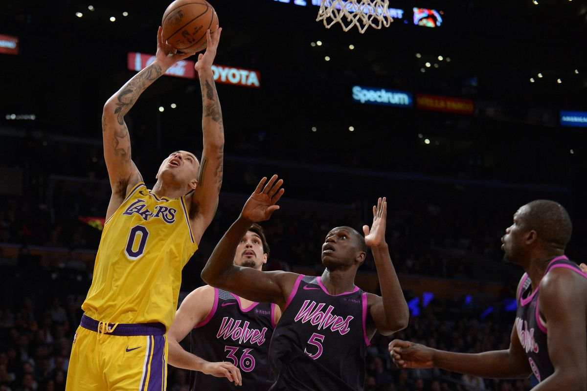 6f7ae960e3c7 Gary A. Vasquez-USA TODAY Sports. Something was off about Kyle Kuzma ...