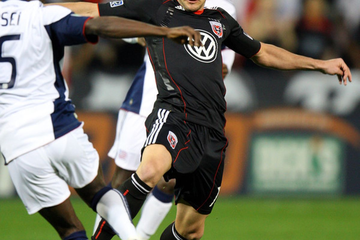 DC United haven't been the same since Chris Pontius went down with an injury in September. (Photo by Ned Dishman/Getty Images)