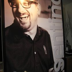 Cosentino tripe with poster