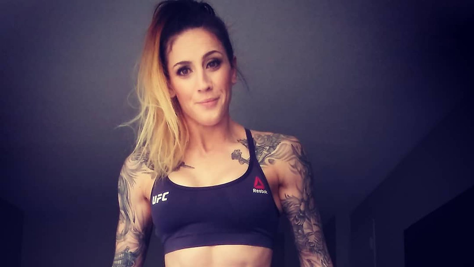 Pic: Every day is leg day for UFC Rochester's Megan Anderson
