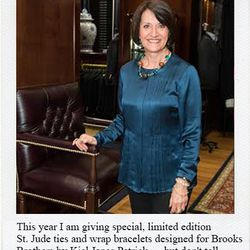 Emilie Antonetti, VP of social purpose & MD at the Brooks Brothers Golden Fleece Foundation
