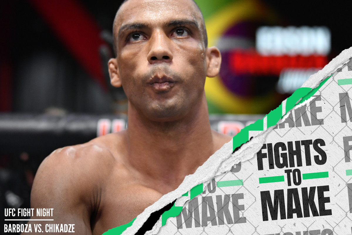 What's next for Edson Barboza after his loss to Giga Chikadze at UFC Vegas 35?