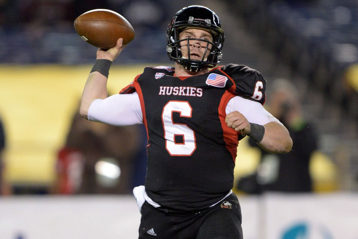 Jordan Lynch led NIU to a 24-4 record in the last 2 years