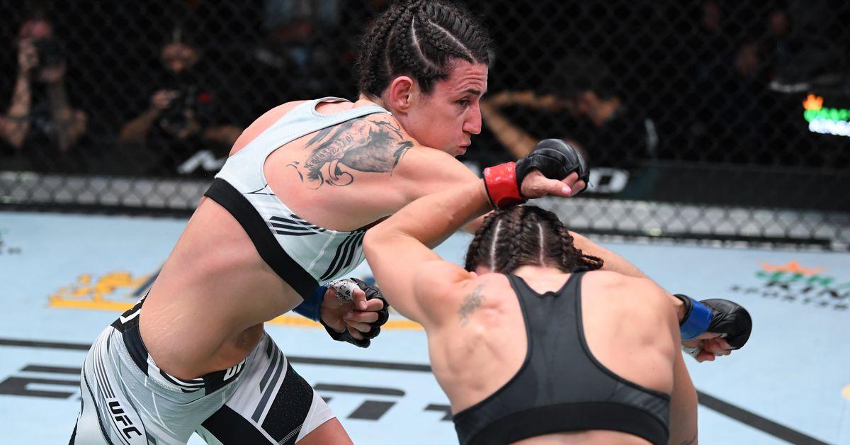 UFC Vegas 39: Pros react to Marina Rodriguez's victory over Mackenzie Dern thumbnail