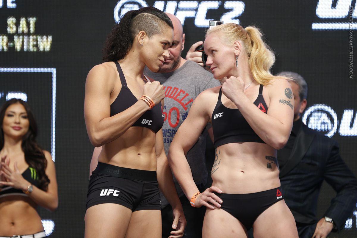 Amanda Nunes and Valentina Shevchenko will kick things off on the UFC 196 main card Saturday.