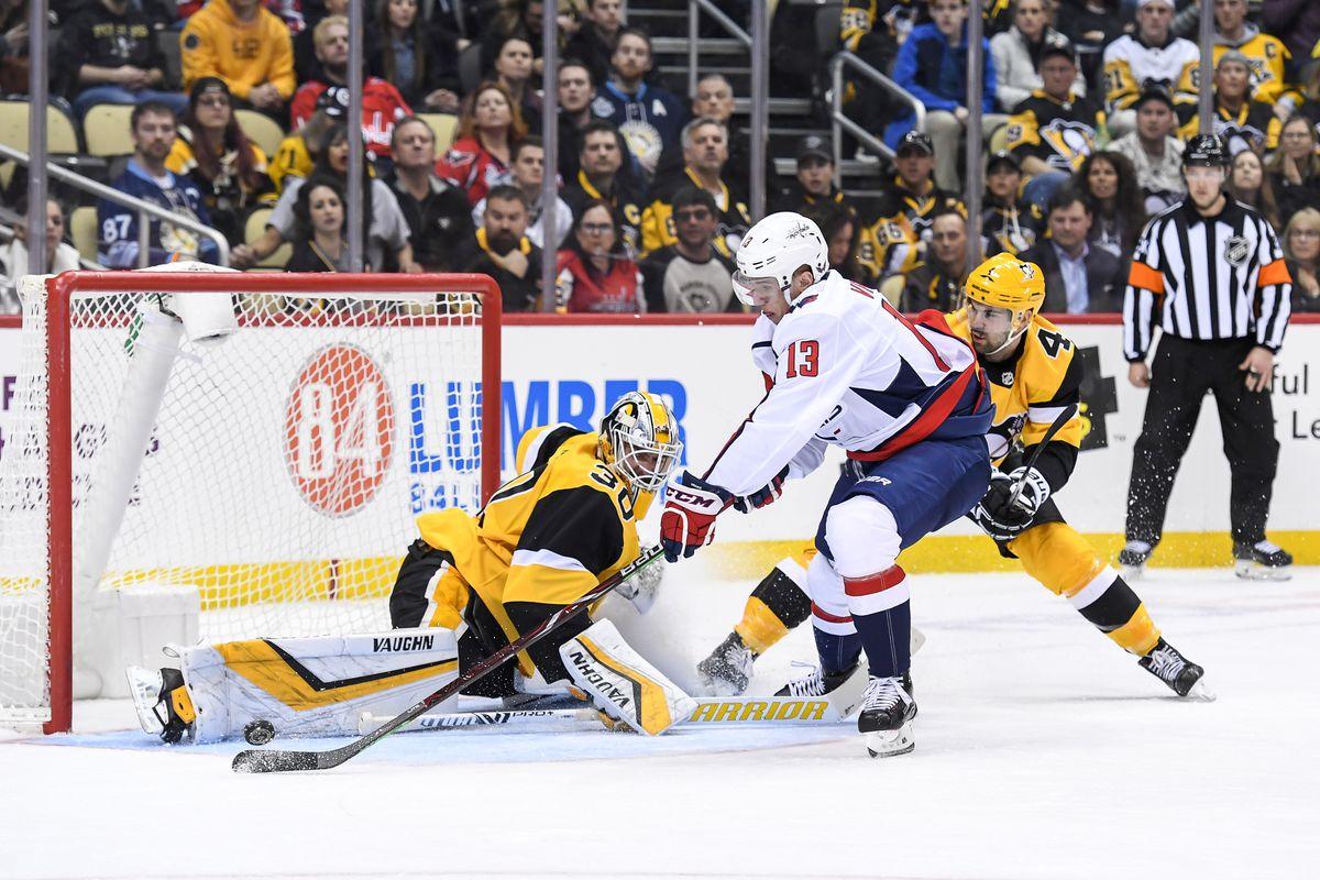 NHL: MAR 12 Capitals at Penguins