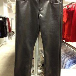 Junya Watanabe CdG Synthetic Leather Pants, $126