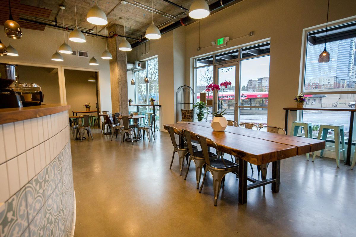 Peek Inside Bellevue S New Community Oriented Coffee Shop