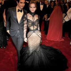 Zac Posen and Christina Ricci. This one's going to be controversial.
