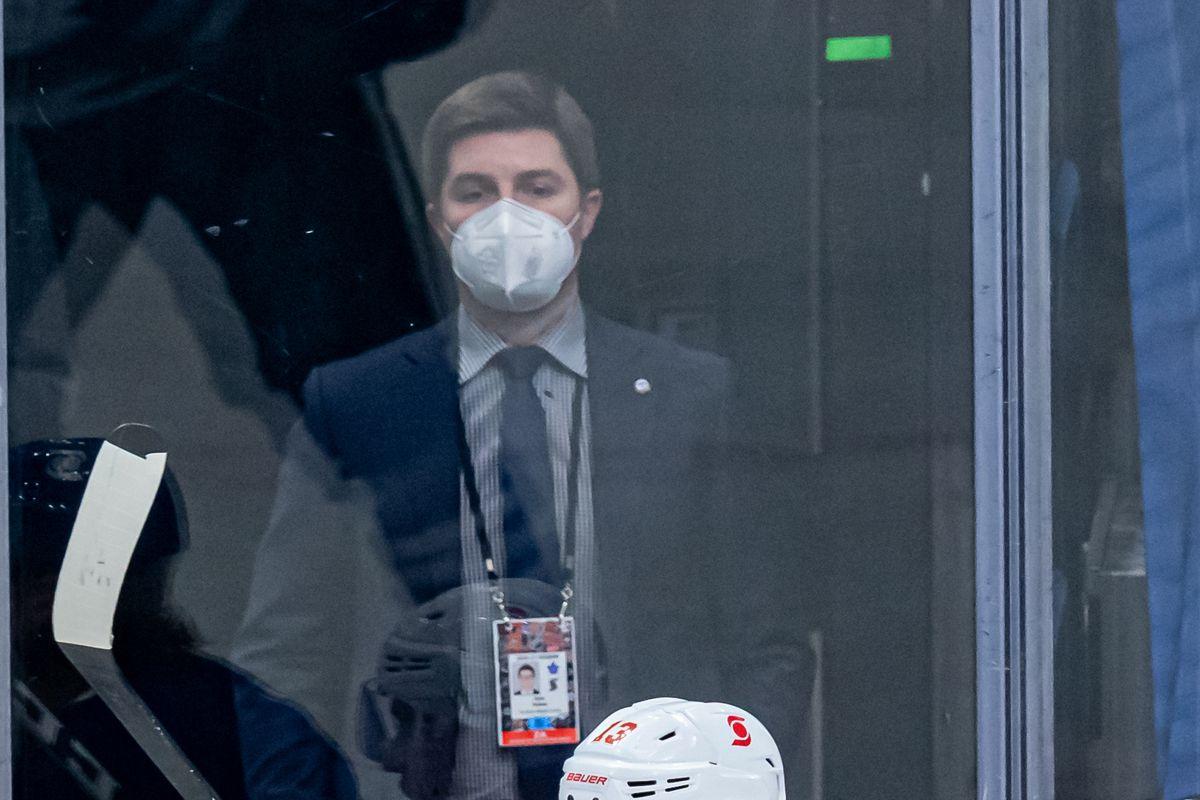 NHL: FEB 22 Flames at Maple Leafs