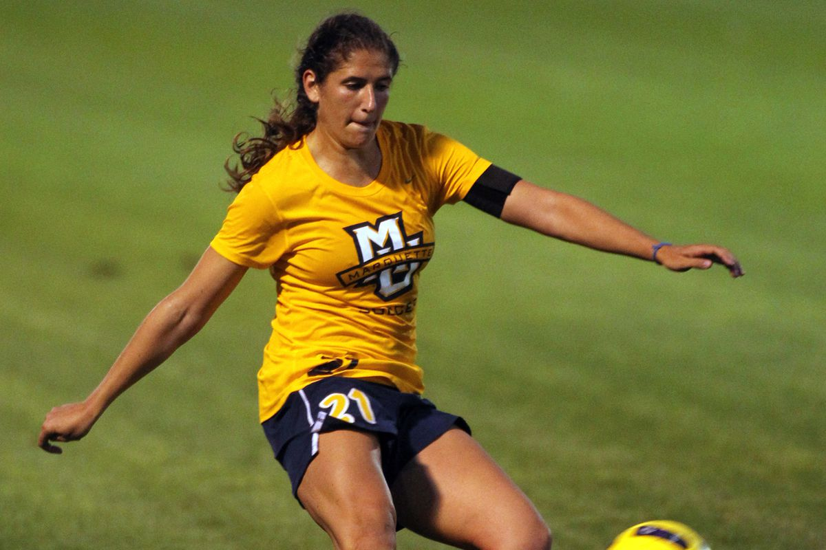 Haley Fritzlen & Marquette's defense are in for a test against the nationally ranked Aggies.