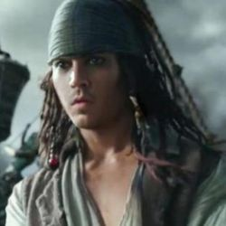 """Johnny Depp received a youthful digital makeover for a flashback in """"Pirates of the Caribbean: Dead Men Tell No Tales."""""""