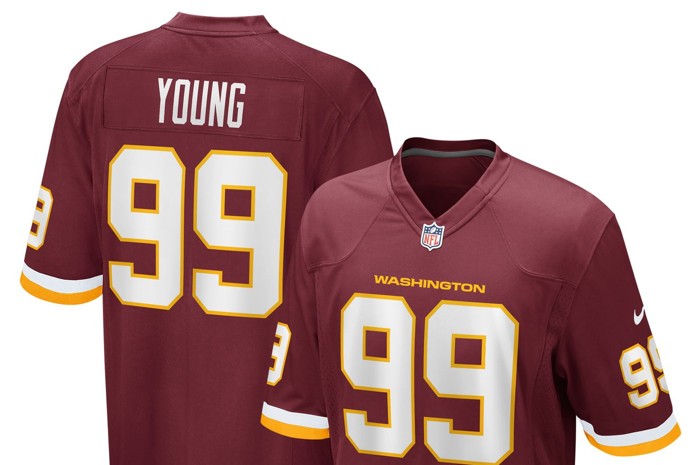 The Washington Football Team's Nike jerseys have arrived! - Hogs Haven