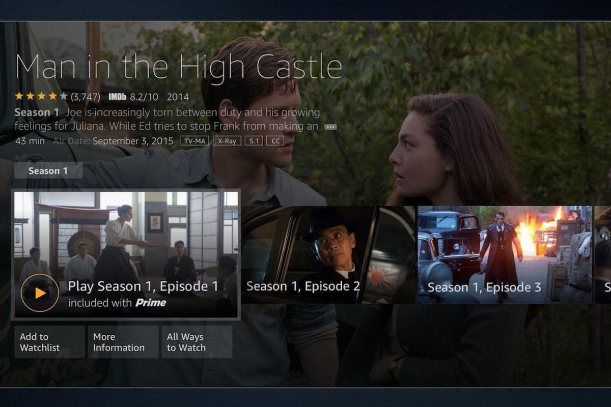 Amazon Fire TV UI Update
