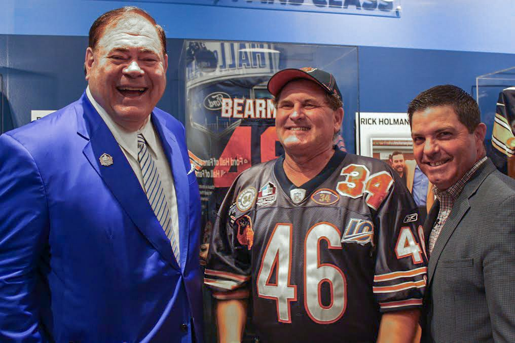 brand new d760b 93599 Bearman Don Wachter Enshrined Today At NFL Hall Of Fame Fans ...