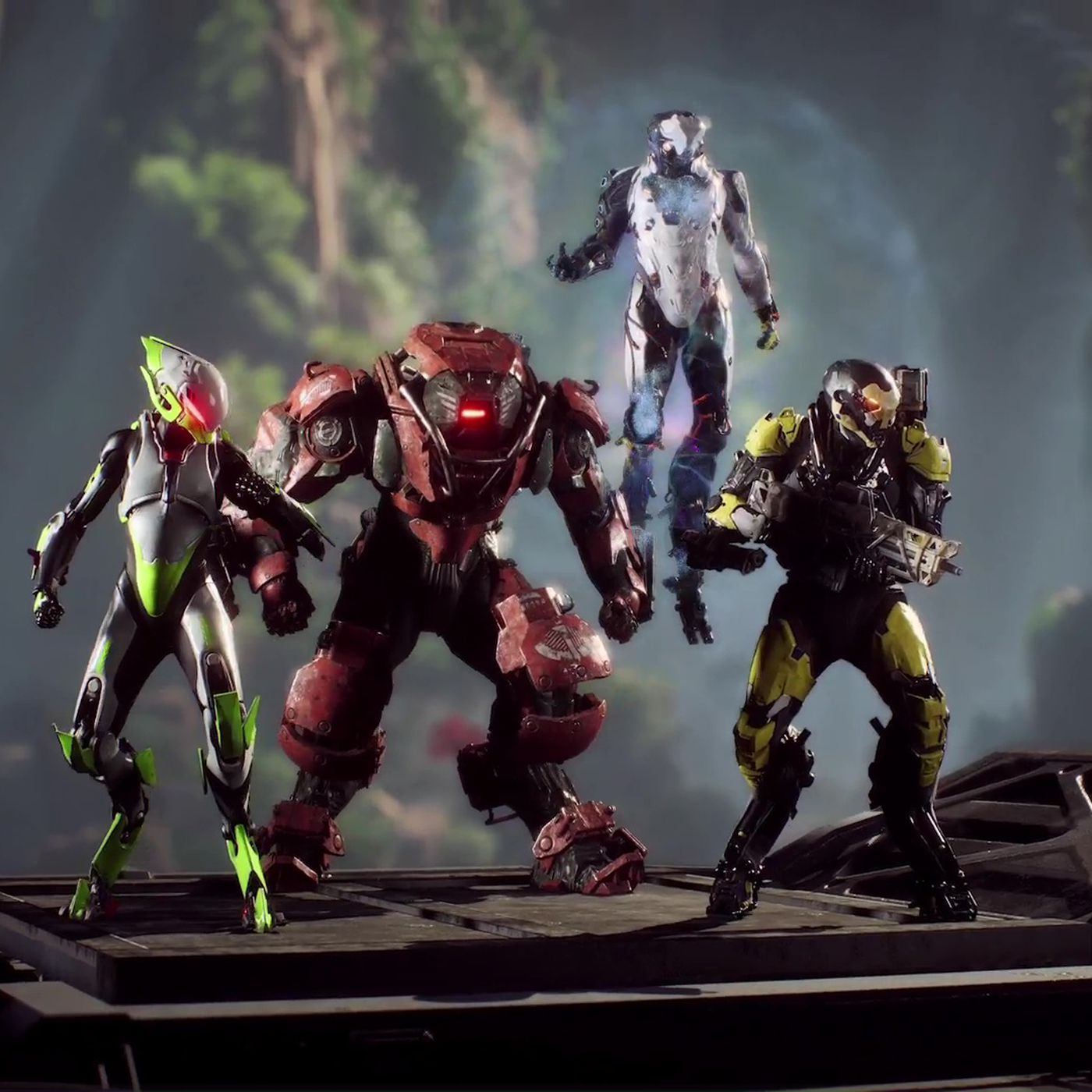 Here S How Anthem S Four Character Classes Work Polygon