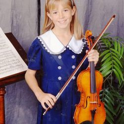 Lindsey Stirling starting playing the violin at age 6.