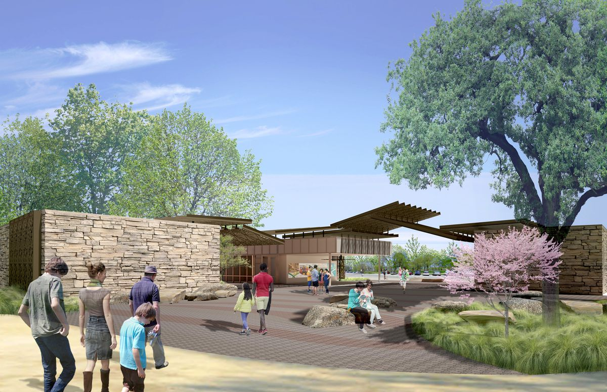 a closer look lincoln park zoo s new visitor center curbed chicago