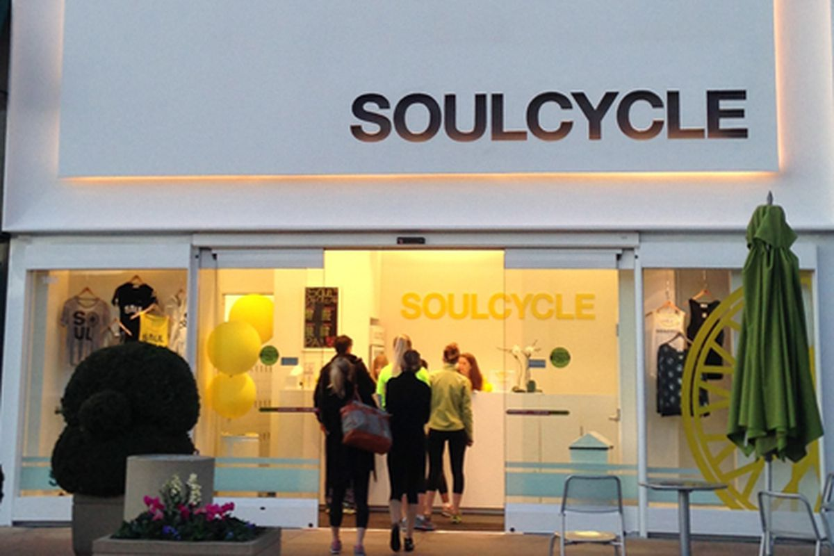 """Photo via SoulCycle's <a href=""""https://www.facebook.com/pages/SoulCycle/64759509591"""">Facebook</a>"""
