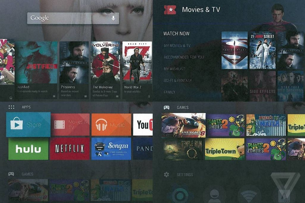 exclusive this is android tv the verge