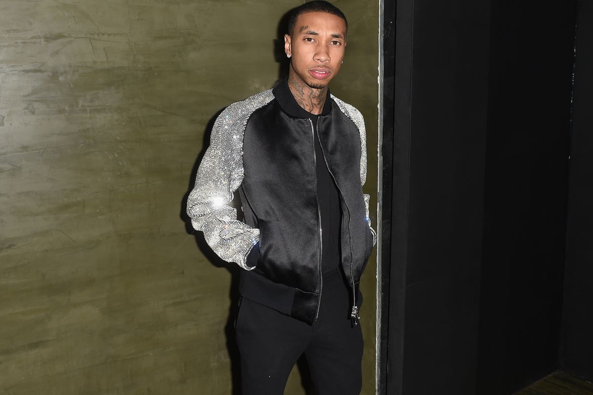 Tyga at a Met Gala after-party.