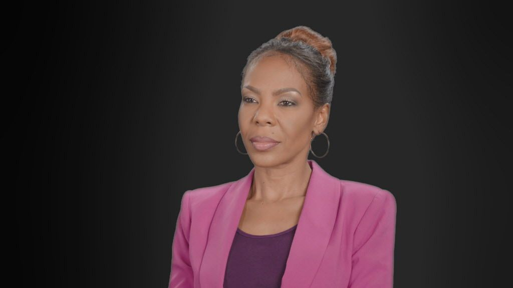 """Andrea Kelly reveals the trauma of her years as the former wife of R&B star R. Kelly in """"Surviving R. Kelly.""""   Copyright 2019 Lifetime"""