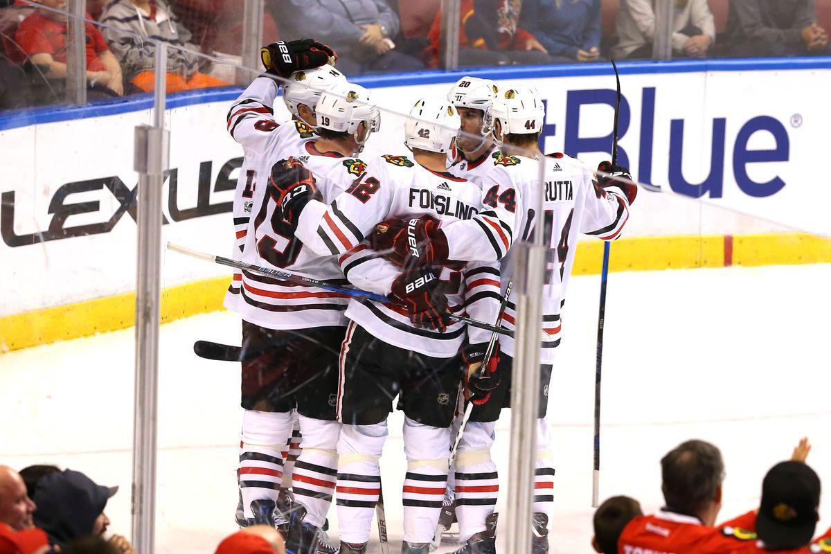 NHL: Chicago Blackhawks at Florida Panthers