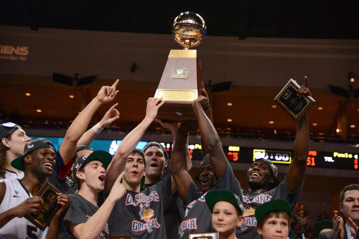 Gonzaga is the pick to win this trophy, again.
