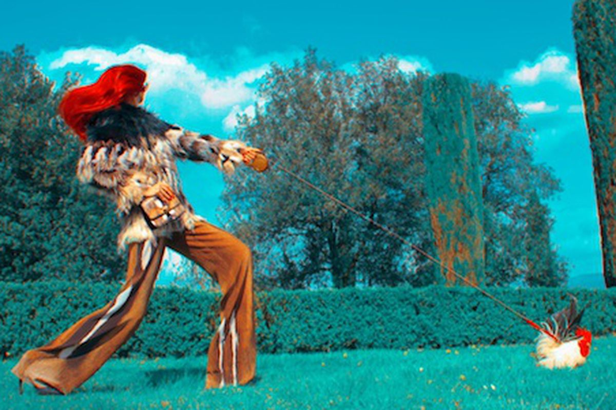 "Image via <a href=""http://www.style.com/stylefile/2013/06/roberto-cavalli-goes-psycho/"">Style.com</a>"