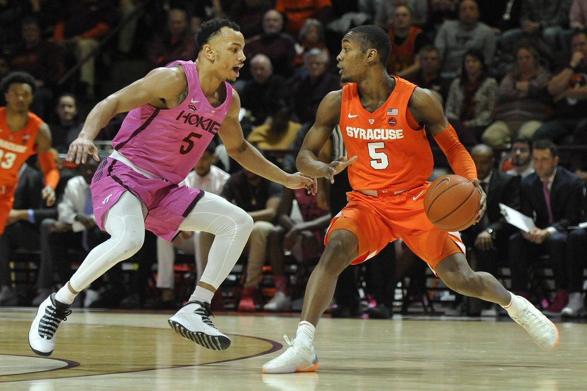 NCAA Basketball: Syracuse at Virginia Tech