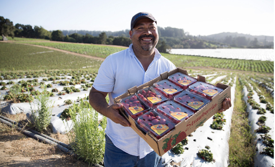 Javier Zamora of JSM Organics