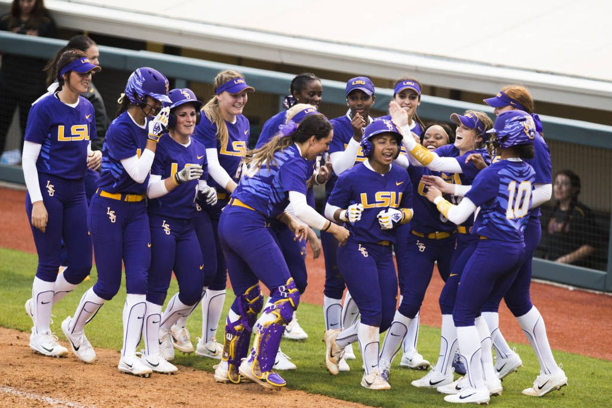LSU Softball Weekend Preview: Purple & Gold Challenge ...