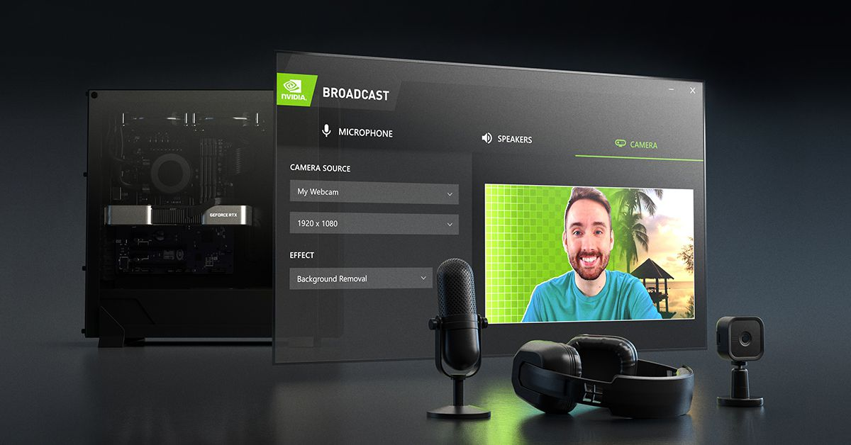 Nvidia's Broadcast update filters the sound of a billion sex-starved cicadas