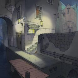 Artwork BYU undergraduate Danny Russon included in his application to the school's competitive animation program