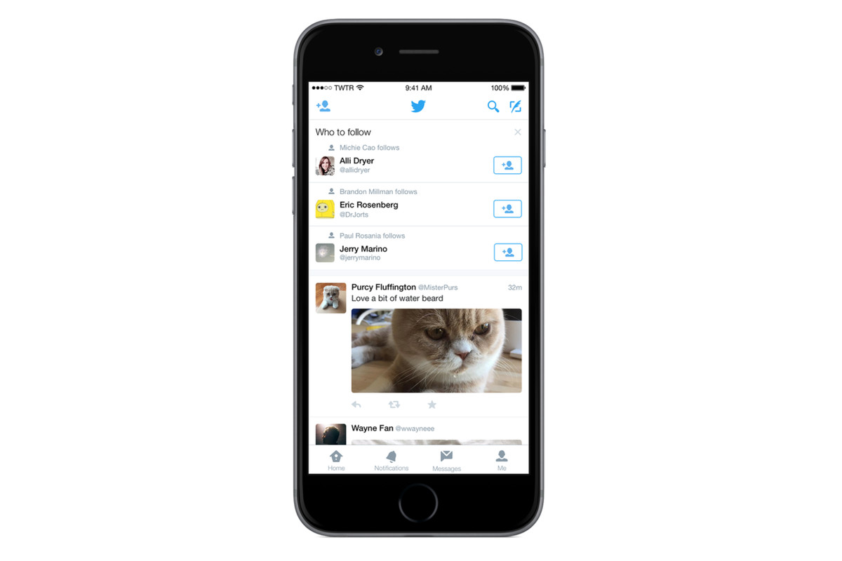 Twitter adds 'who to follow' recommendations to timeline ...