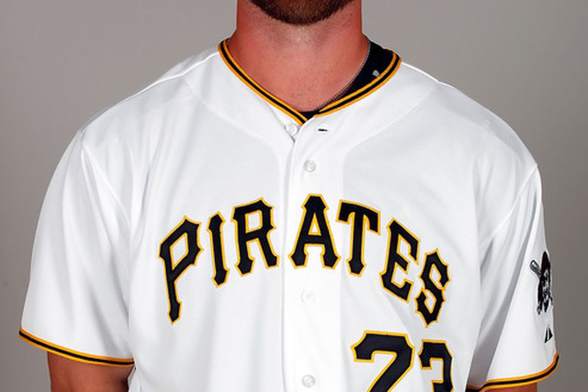 BRADENTON FL - FEBRUARY 20:  Pitcher Rudy Owens #73 of the Pittsburgh Pirates poses for a photo during photo day at Pirate City on February 20 2011 in Bradenton Florida.  (Photo by J. Meric/Getty Images)