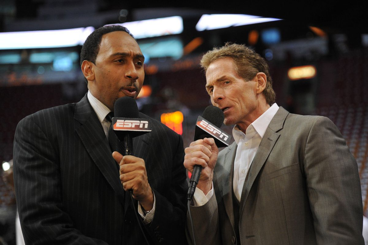 """Two other fine """"commentators"""" employed by ESPN."""