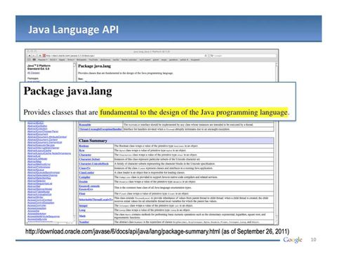 Google's legal slides paint Oracle as a gold digger, Java as