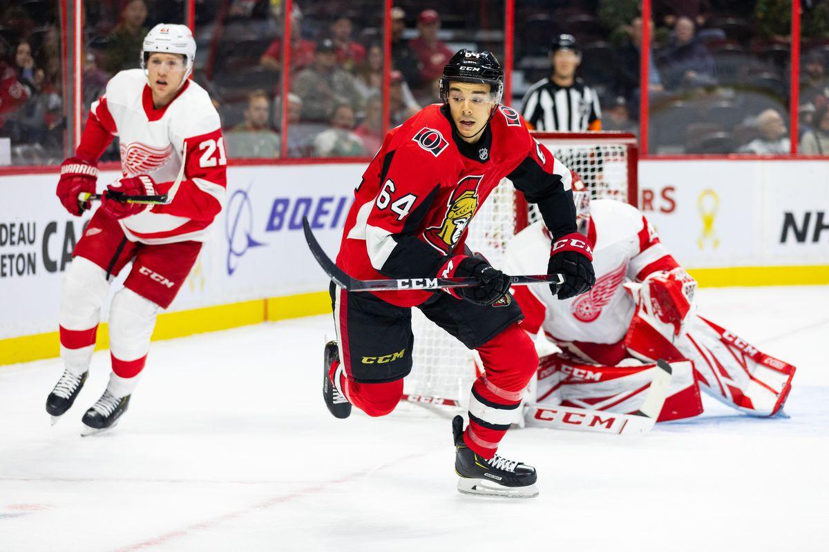 NHL: OCT 23 Red Wings at Senators