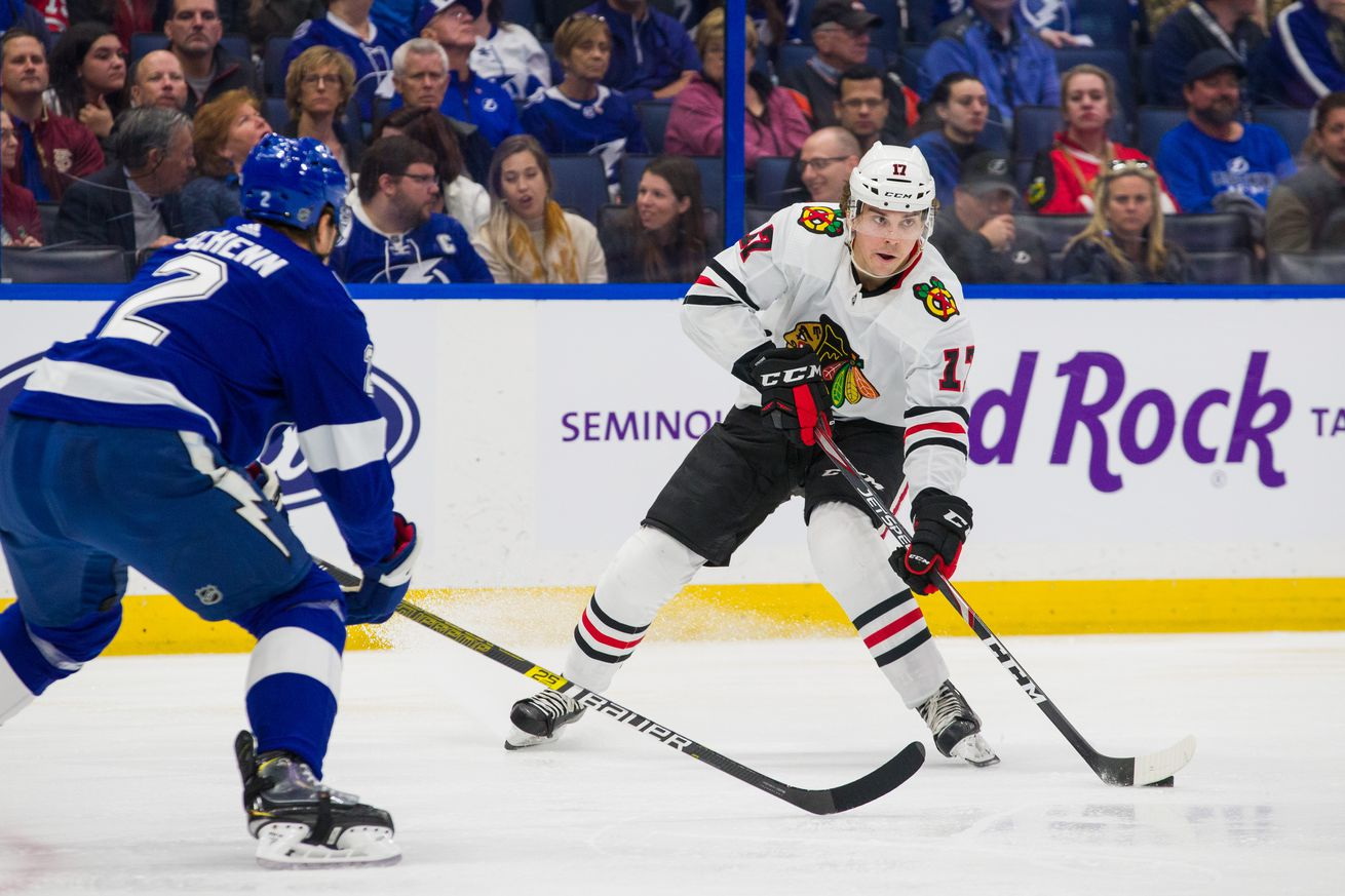 Chicago Blackhawks v Tampa Bay Lightning