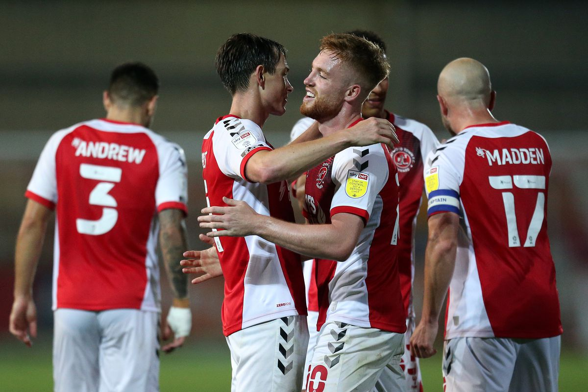 Fleetwood Town v Port Vale - Carabao Cup Second Round