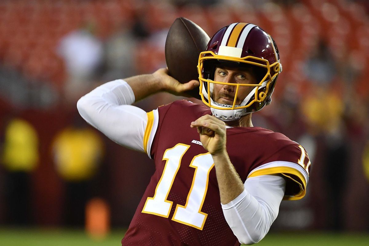 1f864ebb904 Football Outsiders: Key To Alex Smith's Success In Washington Will Center  On Curl Routes