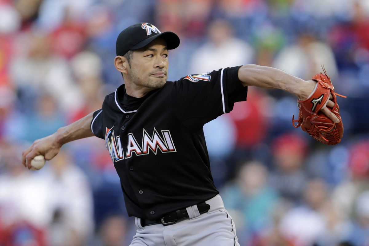 Another reason why the Marlins should let Ichiro Suzuki pitch down