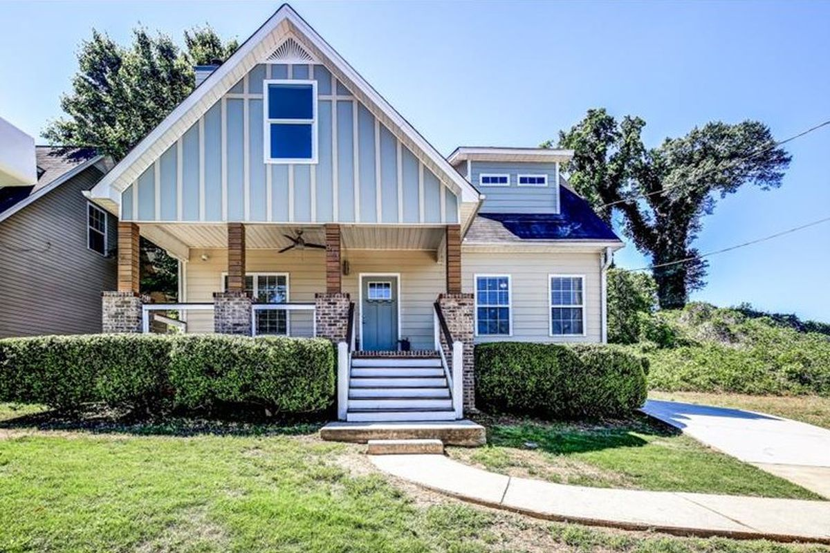 A renovated Craftsman-style home in Chosewood Park in south Atlanta.