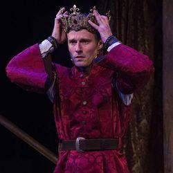 "Sam Ashdown as Prince Henry in the Utah Shakespeare Festival's 2015 production of ""Henry IV Part Two."""