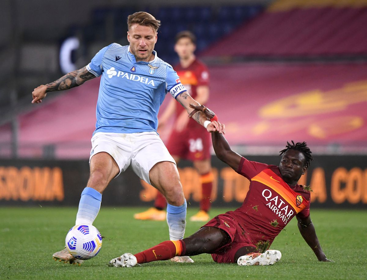 ITALY-ROME-FOOTBALL-SERIE A-ROMA VS LAZIO