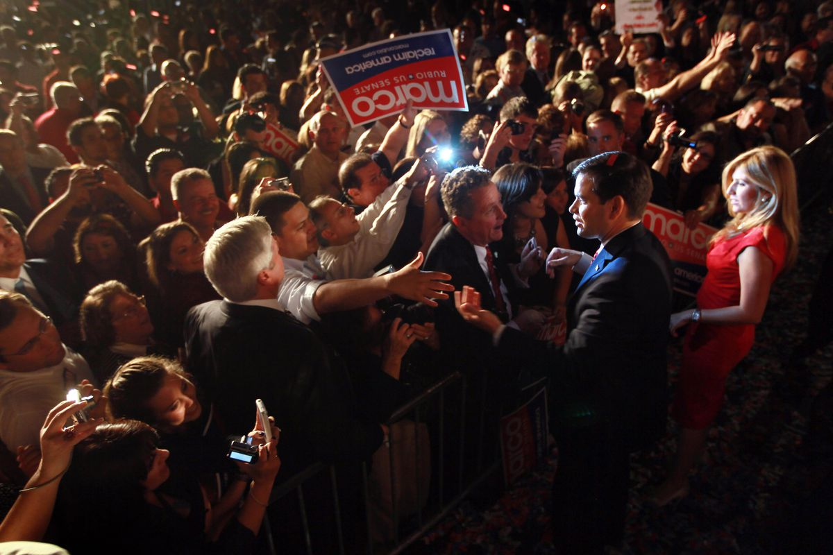 Marco Rubio crowd