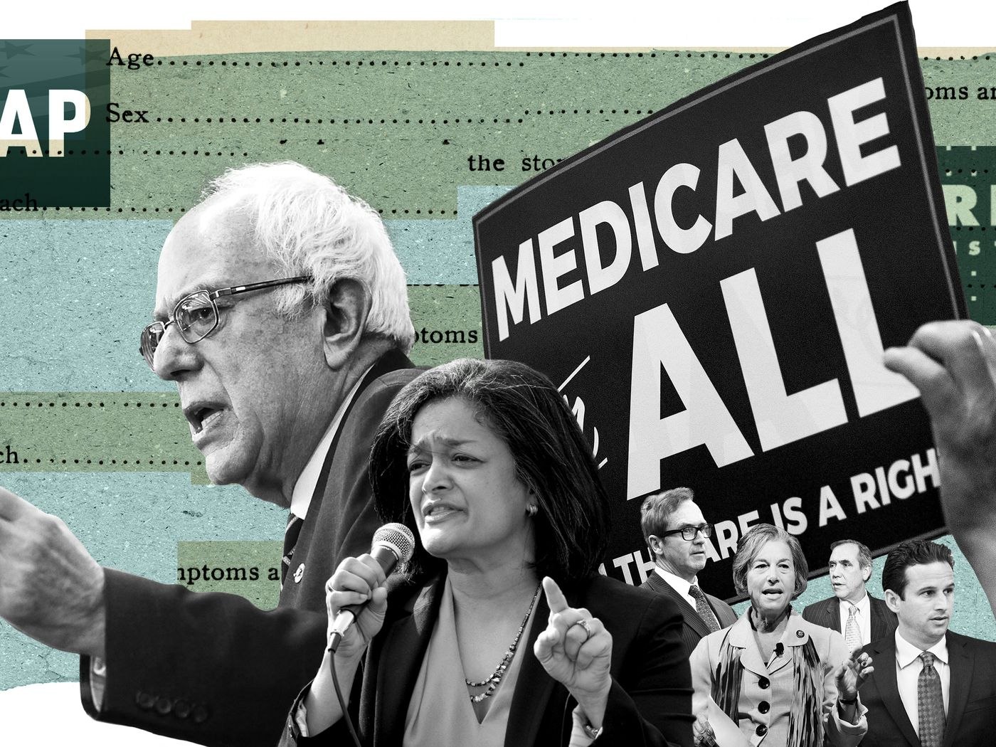 Medicare-for-all: The design and costs for Democratic health care