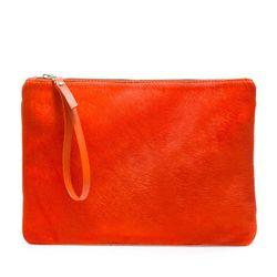 "<span class=""credit""><b>Zara</b> Color Block Clutch, <a href=""http://www.zara.com/us/en/woman/handbags/color-block-clutch-bag-c434559p1138532.html"">$49.99</a> (sale price)</span><p>"
