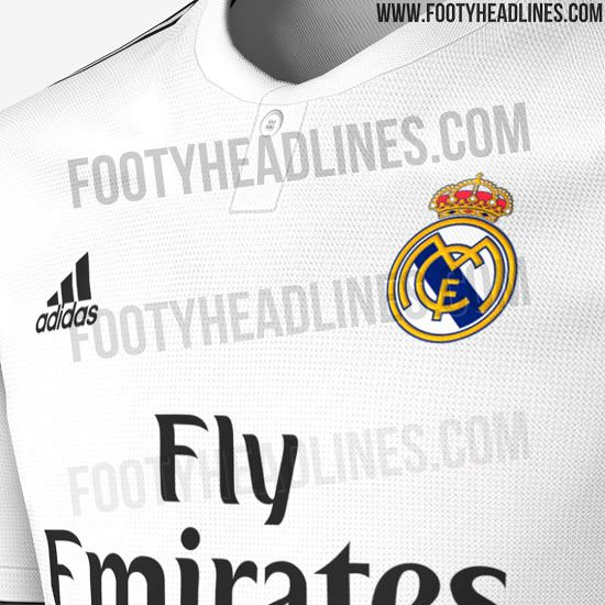 ... assuming that Footyheadlines are right with this report —they usually  are— Real Madrid will also feature a collar 076420318